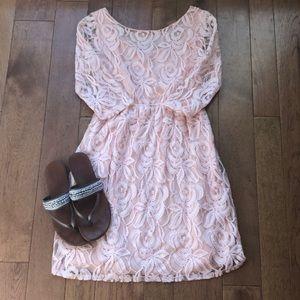 Modern vintage Boutique small lace dress